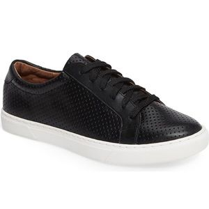 Caslon Cassie Black Leather Sneakers